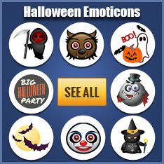 Halloween Facebook Stickers
