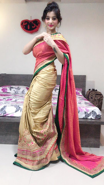 Ankita dave in Saree