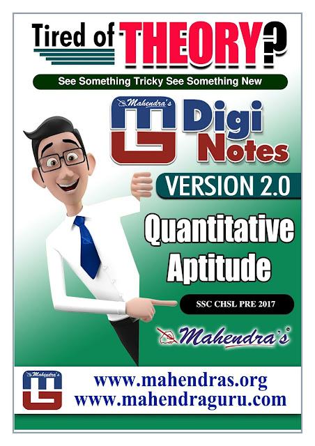Digi Notes - 2.0 | SSC CHSL PRE Special | 12 .01. 2018