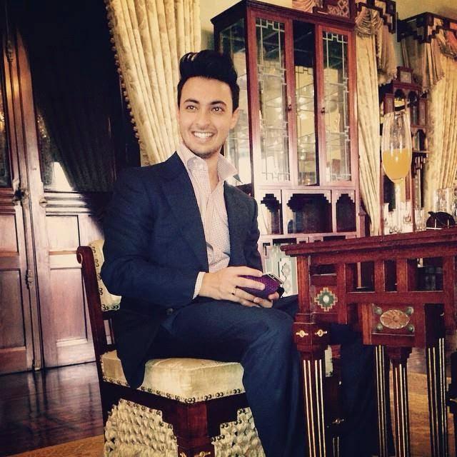 Aayush Sharma during his wedding events