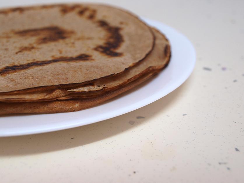 Receta de tortitas sin huevo saludables | dibucos