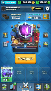 Clash Royale Mod Apk v1.8.2 Full Hack Unlimited Gems Coins Money