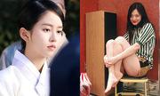 Sao Hàn 22/3: Kim So Hyun mặc đồ cổ trang, Sulli khoe chân nõn nà