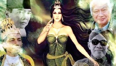 Kisah Misteri Soekarno dan Ratu Pantai Selatan Nyi Roro Kidul