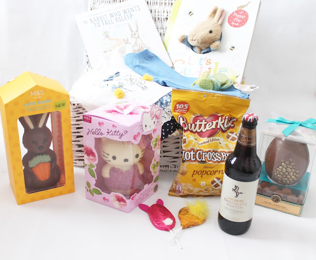 Easter gift guide marks & spencer kids eggs and luxury adults eggs chocolate beer and hot cross bun popcorn books and clothing for baby