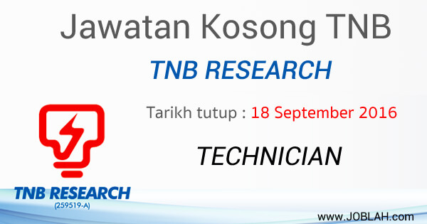 Jawatan Kosong TNB Research