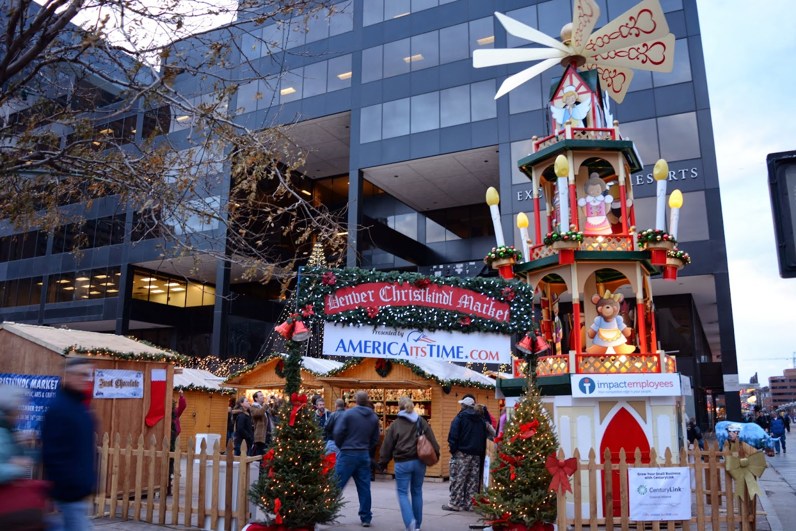 Denver Christkindl Market 11 hrs · Bank of America is proud to partner with Christkindl Market as presenting sponsor, and they are grateful for the opportunity to showcase the following non-profit organizations at the Market: Center for Work Education & Employment on 11/27 and Volunteers for Outdoor Colorado on 11//5().