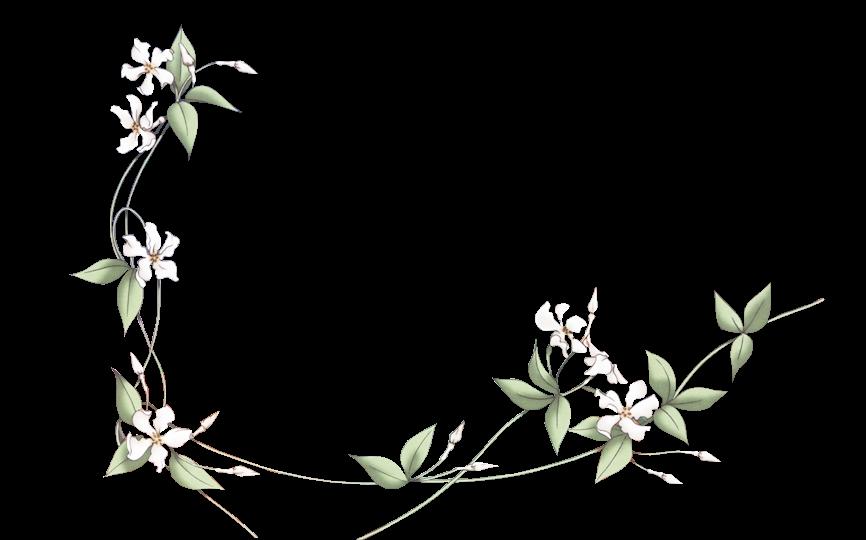 render flores blancas