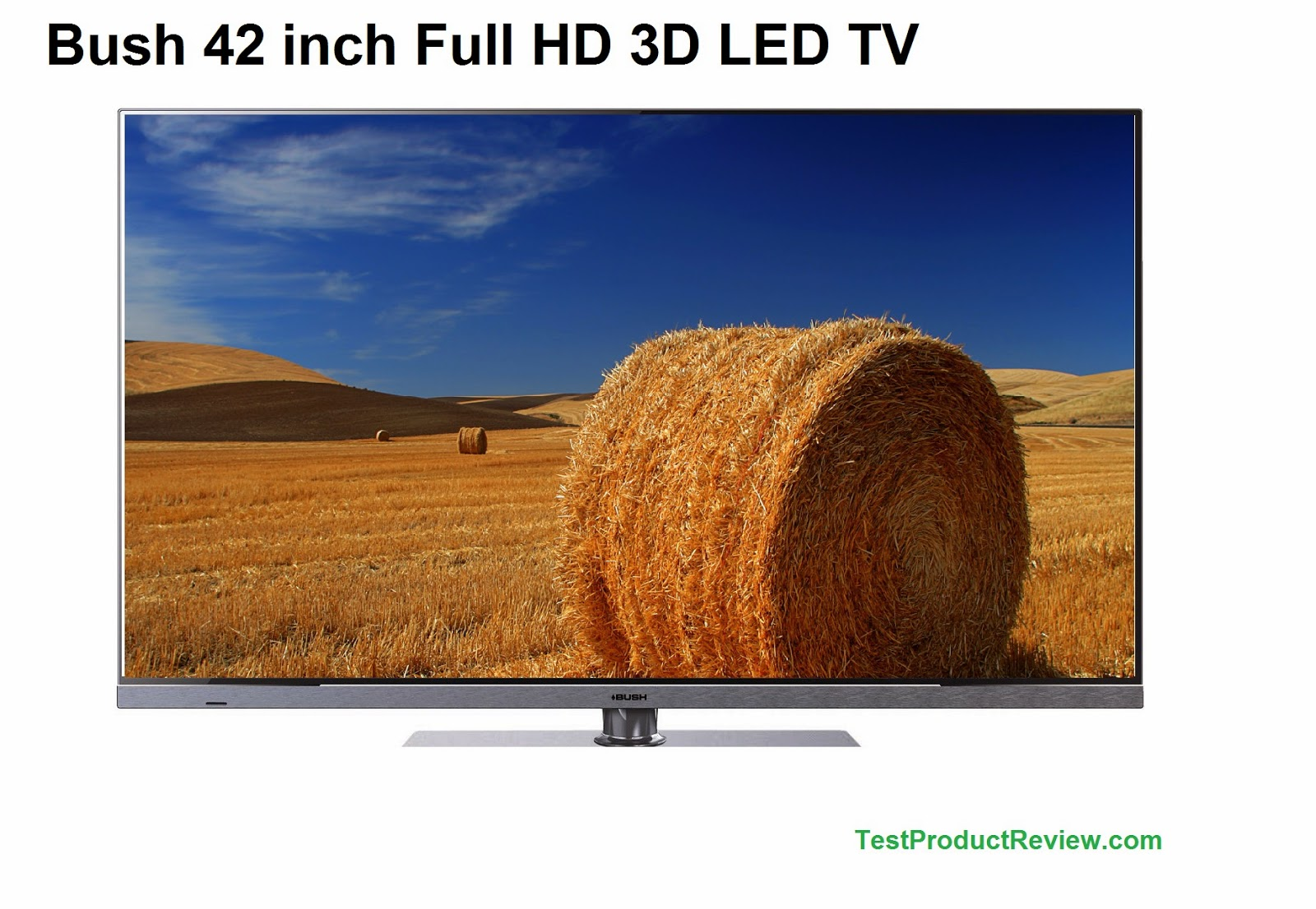 Bush 42 inch Full HD 3D LED TV price and specs