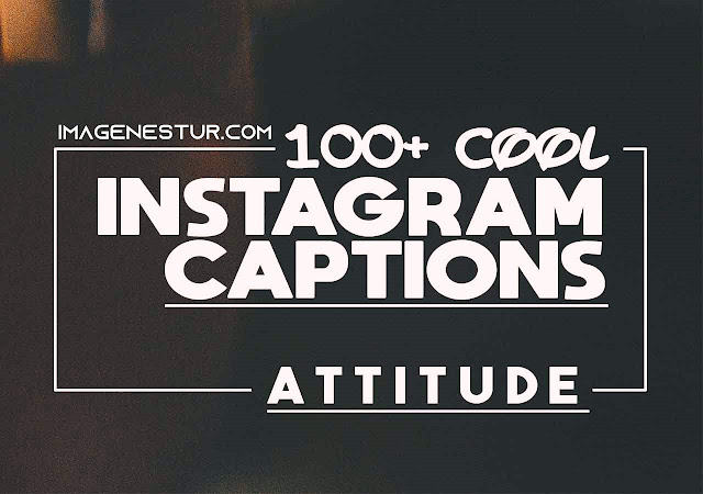 Cool Instagram Captions For Your Profile Pic. Cool, Attitude, sassy, selfie, motivational, and love captions.