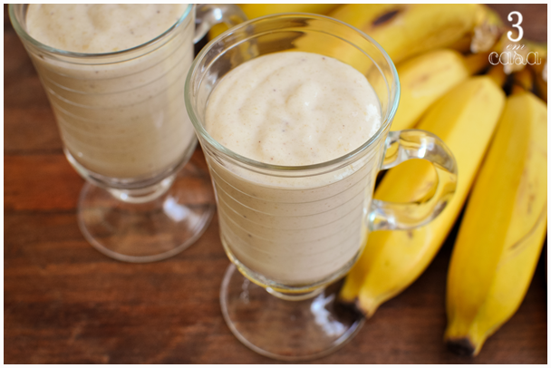 smoothie banana caramelada