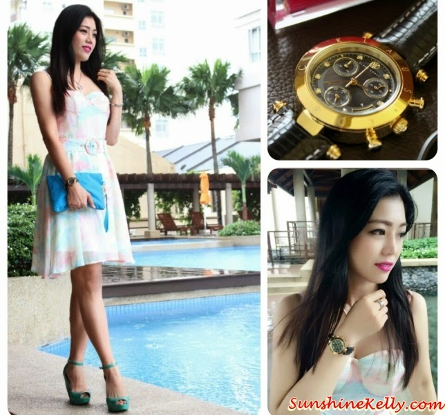 2015 New Year  Lookbook, New Year Inspired Look, Falla Dress, Tuulla The Label, Tuulla, Couture Watch, Klaus Kobec, Aqua Pouch, Kipling Malaysia, Bourjois, Rouge Edition Velvet, Floret, Melissa Shoes, ootd, fotd. outlook of the day