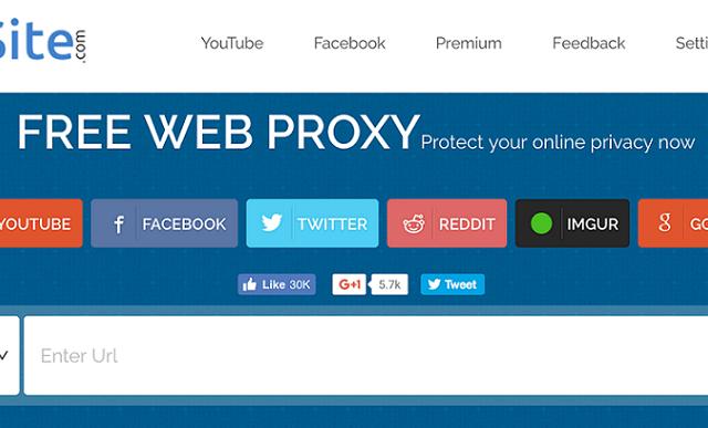 10 Website Terbaik Proxy / Vpn Online Terbaik, Gak Perlu Aplikasi