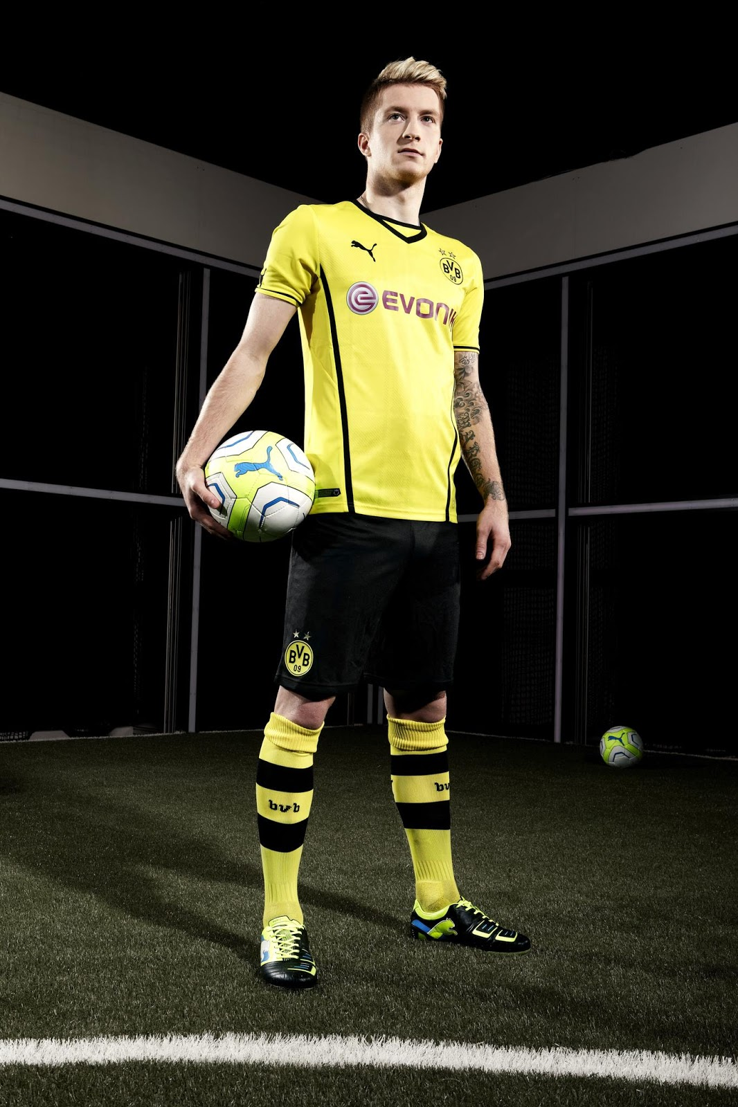 new concept be40f 13527 All about Marco Reus: Introducing the new Borussia Dortmund ...