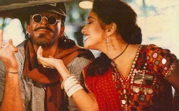 Madhuri Dixit and Sanjay Dutt in Khalnayak