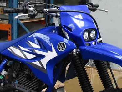 Yamaha Ttr 125 Plastics Kit Modification Ideas Yamaha Old Bikes List