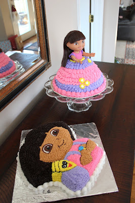Say It Sweetly A Dora The Explorer Birthday Cake