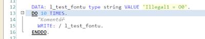 Best font for ABAP Editor?