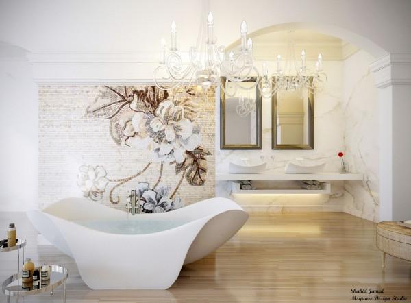 27 Kumpulan Denah Model Desain Gambar Kamar Mandi Minimalis Ultra Luxury