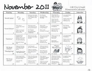 First Grade News at LBJ: March 2012