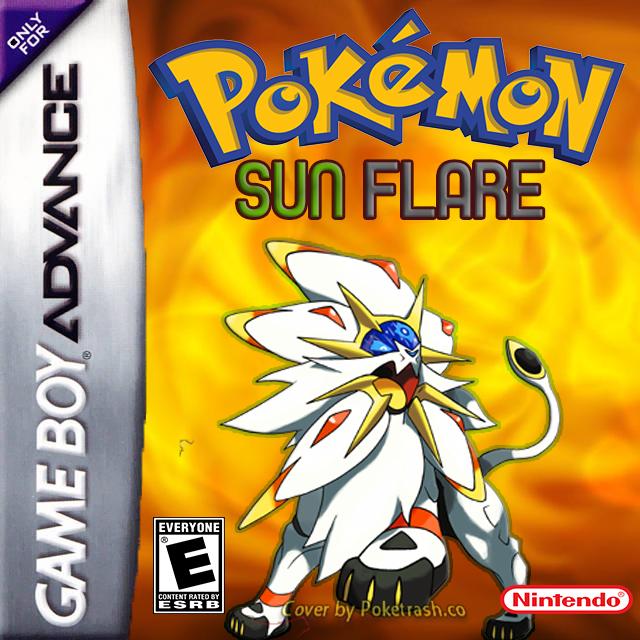 Pokemon Sun Flare gba