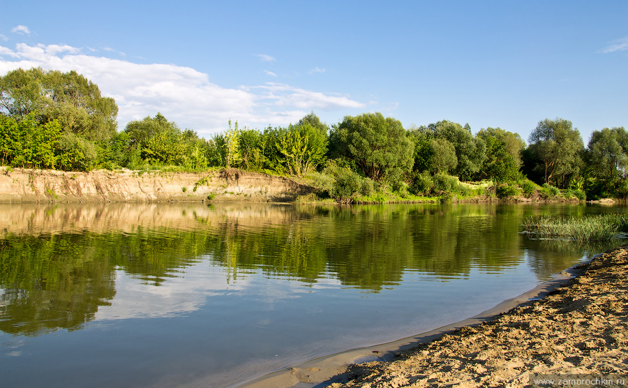 Река Мокша. Пейзаж | The Moksha River. Landscape