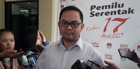KPU Tanggapi Prabowo Unggul di Situs Resmi: 1 Persen Saja Belum