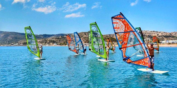 Karpathos: spiagge per surfisti e kiters