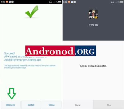 Cara Mengganti Button di Game FTS 2018 Android Dengan Mudah