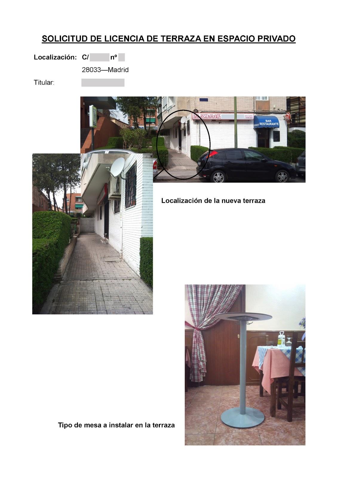 Lrh proyectos terraza para bar en suelo privado - Suelos para bares ...