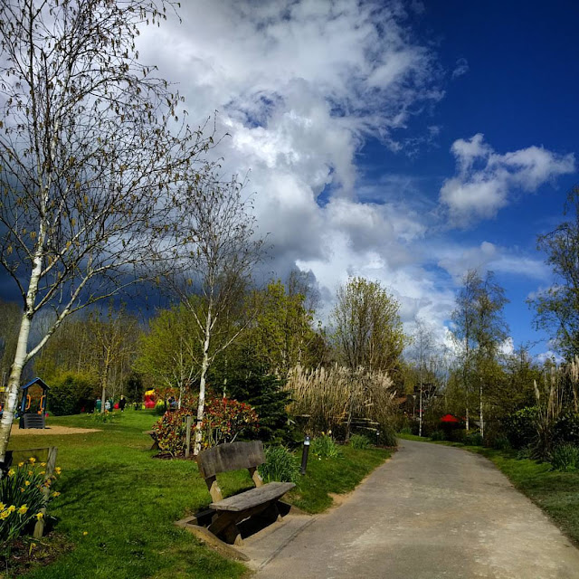 Tayto Park - Storm approaching