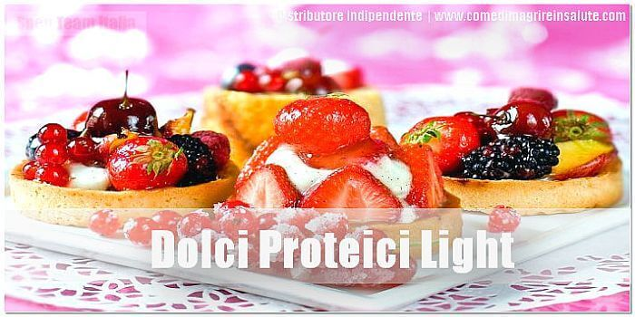 Dolci Proteici Light