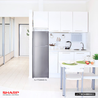 Keep Cool and Fresh this Christmas:The Sharp J-Tech Inverter 2-Door Refrigerator