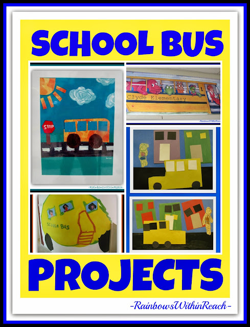 School Bus as Art Project and MORE at RainbowsWithinReach