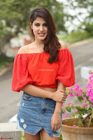 Rhea Chakraborty in Red Crop Top and Denim Shorts Spicy Pics ~  Exclusive 074.JPG