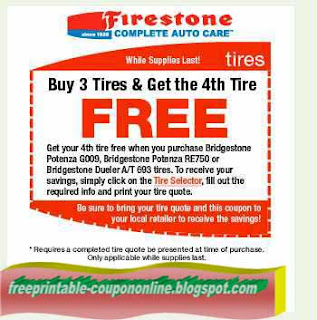 Free Printable Firestone Coupons