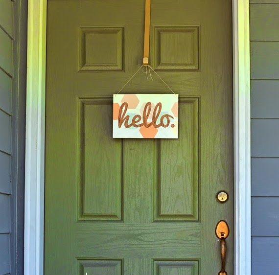 http://www.sisterswhat.com/2014/07/diy-hexagon-hello-sign.html