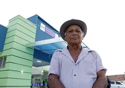 MORADORES DE IPUEIRAS DOS GOMES AGRADECEM A ENTREGA DE UBS.