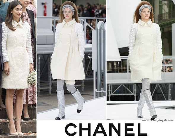 Princess Alessandra Osma wore Chanel Fall 2017 Ready-to-Wear Collection