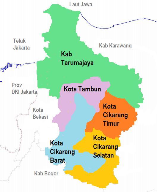 KangAtepAfia.com : Dua Opsi Wacana Pemekaran Kabupaten Bekasi