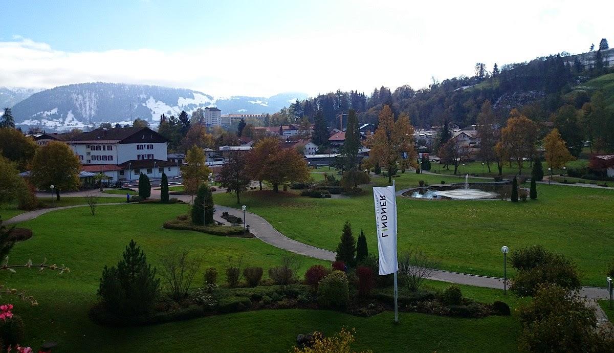 Lindner Parkhotel Oberstaufen: Blick aus meinem Hotelzimmer