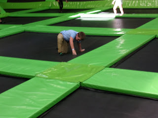 flip out trampoline club cosham