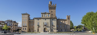 The historic Rocca Mandelli in Caorso houses the town hall