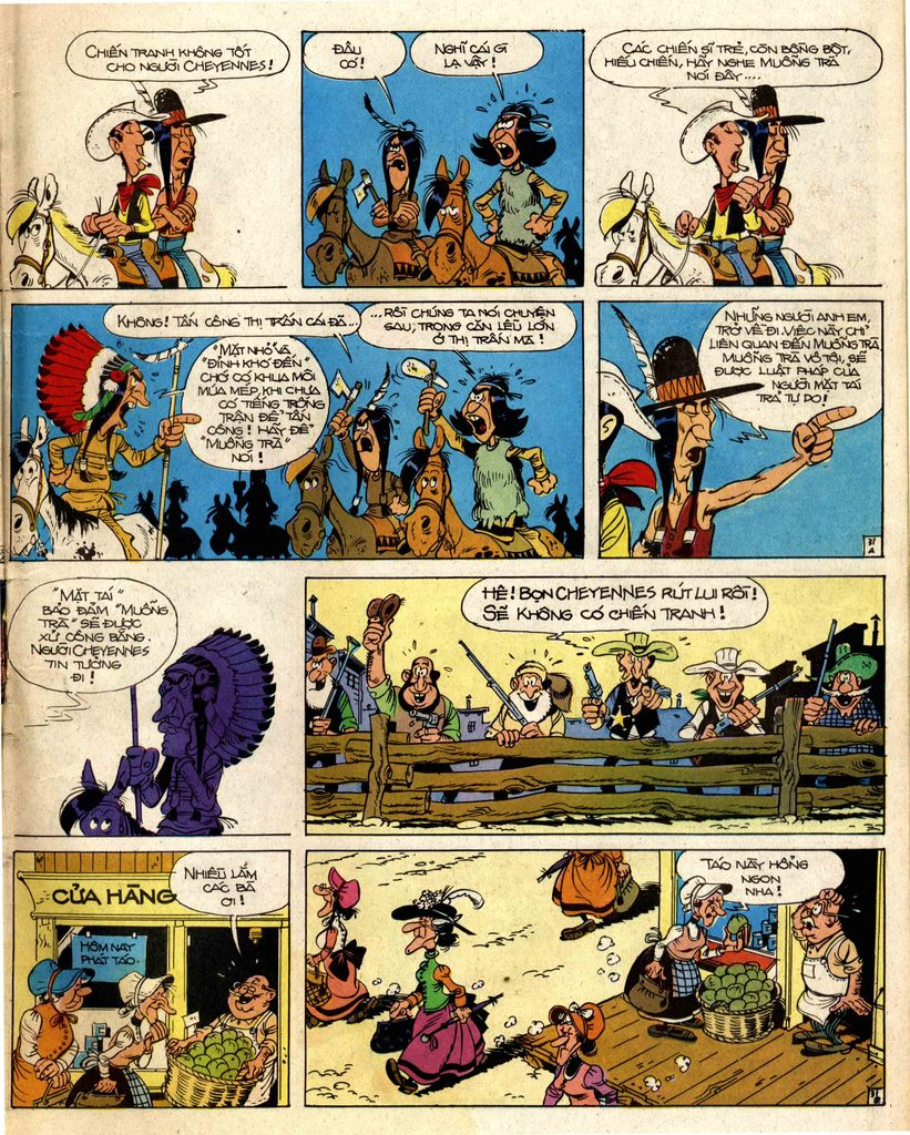 Lucky Luke tap 2 - ke san tien thuong trang 31