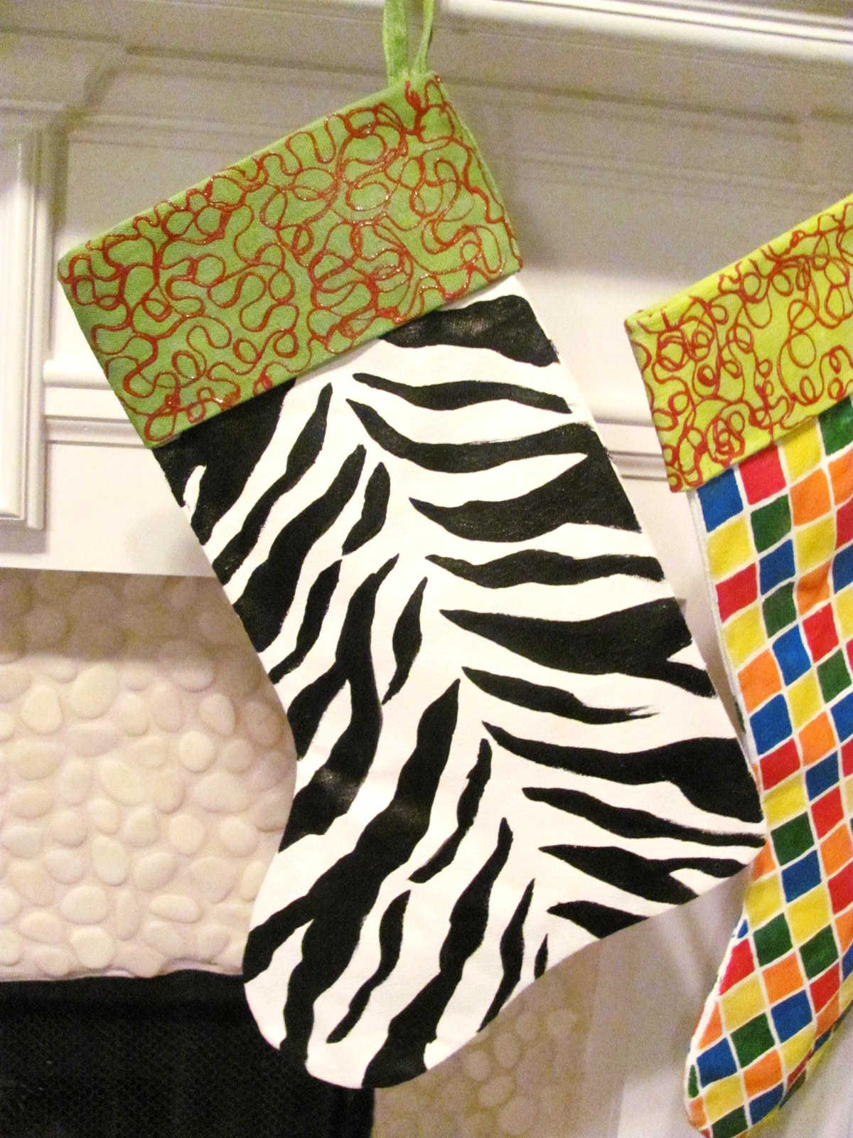 How to Paint on Fabric Hand Painted Designs, Chair