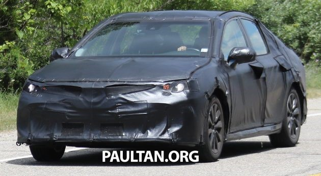 All New Camry Paultan Grand Veloz Silver Ms Blog Toyota Has Started Road Testing The Next Generation Which Will Be Built On S Tnga Platform Thanks To Is
