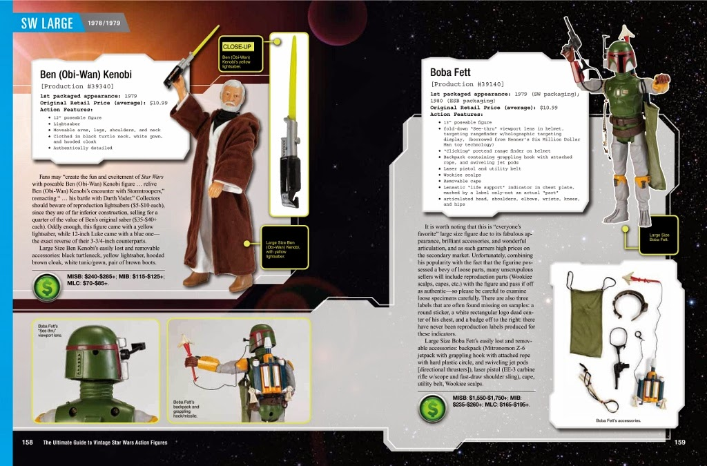 Vintage Kenner Star Wars Toys: Book Review: The Ultimate