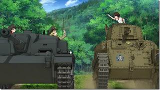 تحميل ومشاهدة جميع حلقات واوفات وفيلم انمي Girls und Panzer مترجم عدة روابط