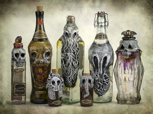art bottle - inspiration