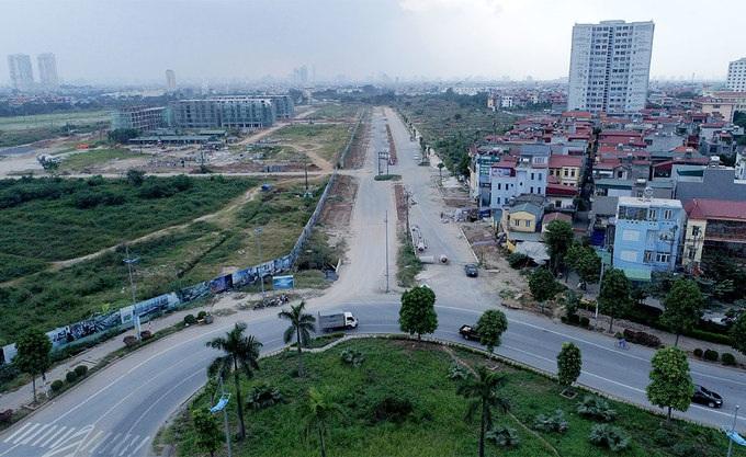 Dự án đường 40m từ đê Ngọc Thụy đến chân cầu Đông Trù được phê duyệt năm 2013 với tổng vốn đầu tư trên 2.700 tỷ đồng.